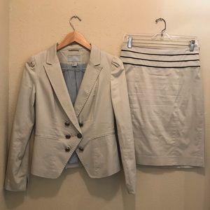 H&M skirt suit set